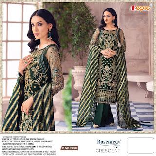 Fepic Cresent Pakistani Suits catalog Wholesaler