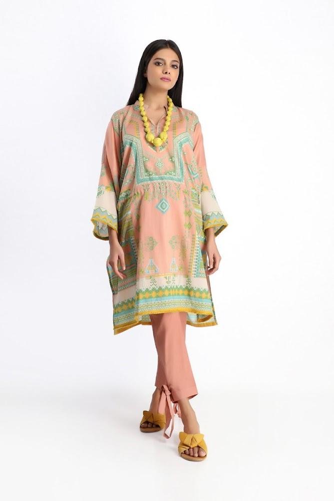 khaadi pink shirt shalwar