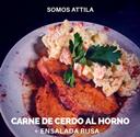 Carne de Cerdo al Horno Attila Foods