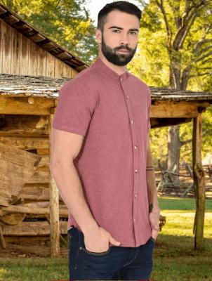 Mens Casual Summer Short Sleeve Shirts
