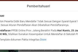 Info tentang Verifikasi Dokumen Persyaratan PPDB SMK Negeri 1 Purwodadi