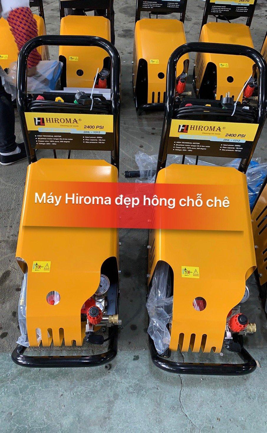 Máy rửa xe chính hãng HIROMA Công suất 3kw Model DHL - 131 8