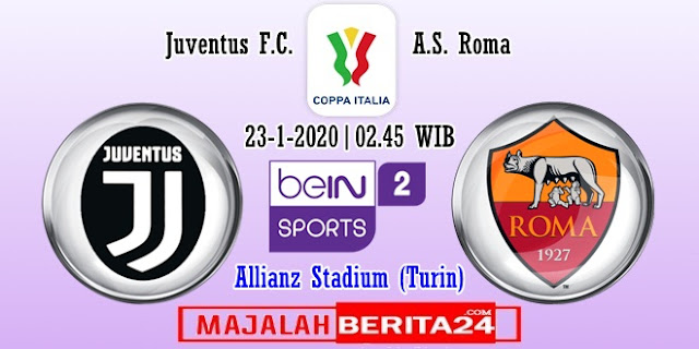 Prediksi Juventus vs AS Roma — 23 Januari 2020