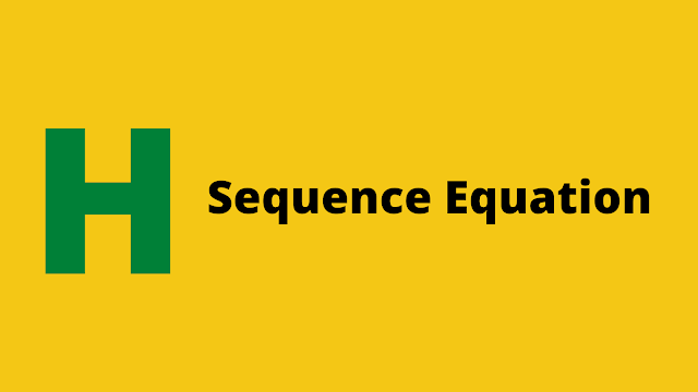 HackerRank Sequence Equation problem solution