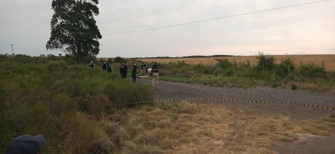 Corpo de taxista foi encontrado entre Dom Pedrito e Bagé