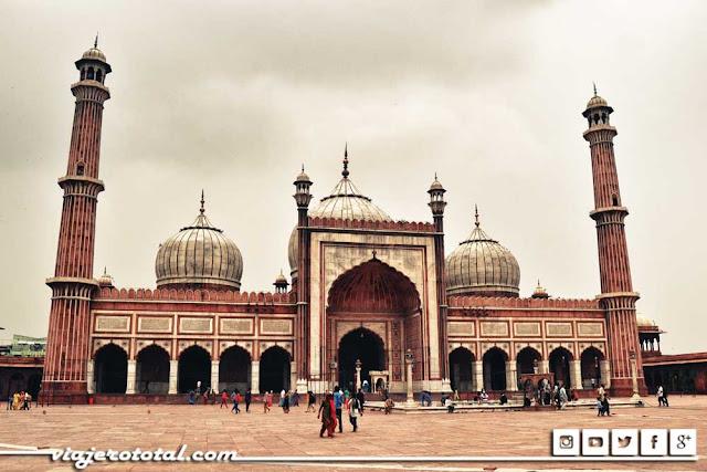 Mezquita Jama Masjid, Delhi, India