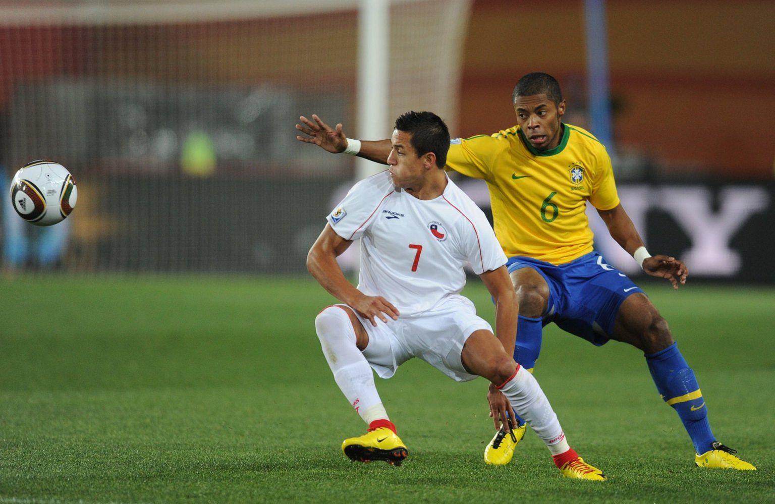 Partidos de la Roja: [28/06/2010] Brasil-Chile - 3:0