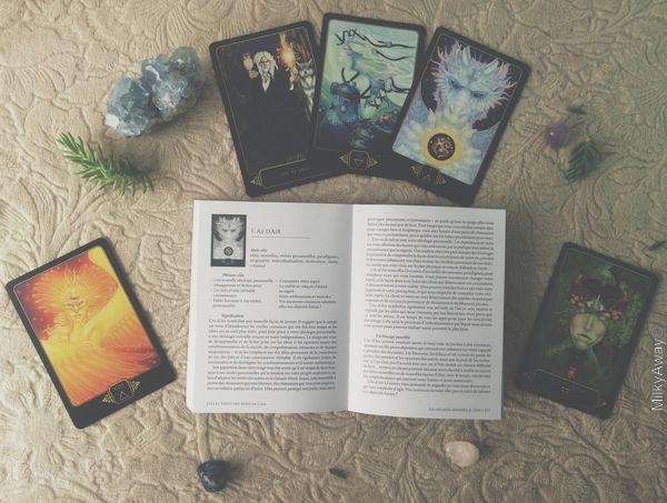 Livre d'accompagnement du Tarot des Rêves de Gaïa aux éditions Véga