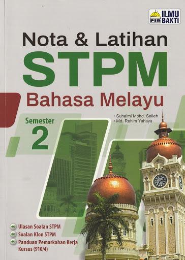 NOTA & LATIHAN STPM SEMESTER 2