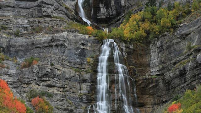 bridal veil falls waterfall