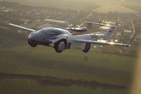 Prototype flying car travels between Slovakian cities