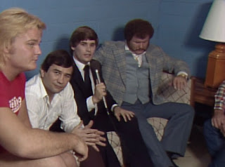 NWA Starrcade 83: A Flare for the Gold - Tony Schiavone interviews Harley Race, with Greg Valentine and Gerry Brisco