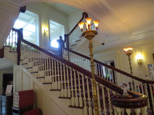 George Eastman staircase