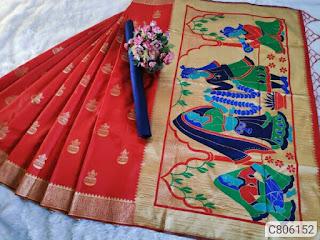 Precious Banarasi Silk Jacquard Sarees