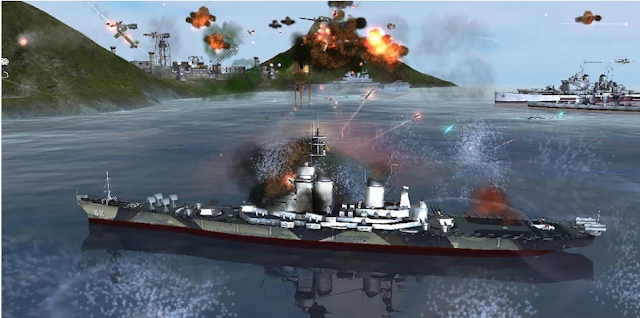 WARSHIP BATTLE: 3D World War II APK + MOD (Unlimited Money) v3.4.0