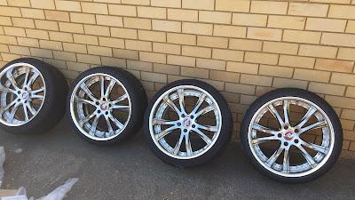 """4x 19"""" SSR Vienna Merisia Wheels"""