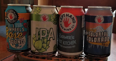 Left Hand Brewery Can lineup