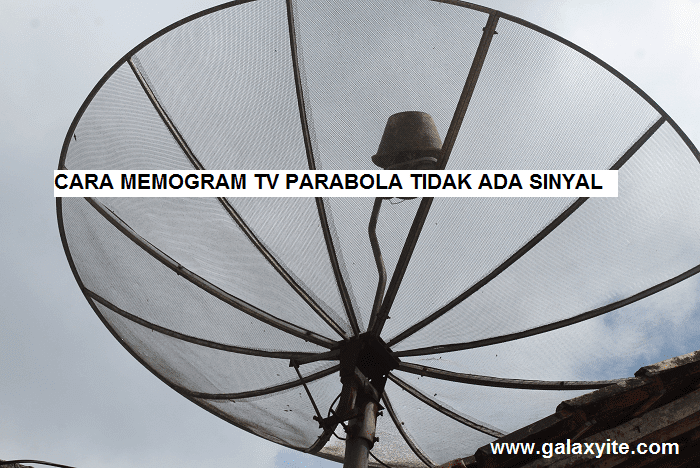 cara memprogram tv parabola yang tidak