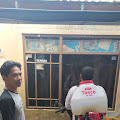 Jurnalis Bela Negara Gandeng Barkodji Rutinkan Penyemprotan Disinfektan di Wilayah Cibeunying Cimenyan