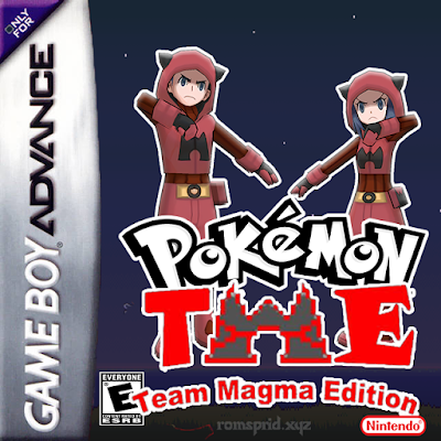 Pokemon Team Magma Edition GBA ROM Hack Download