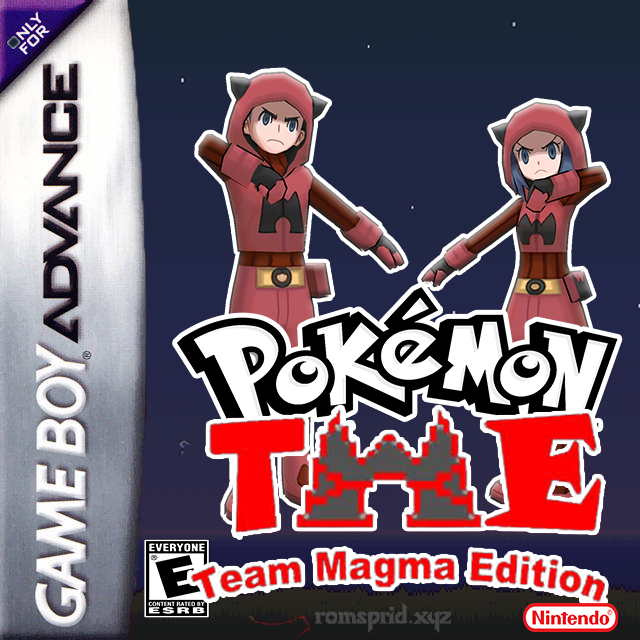 Pokemon Team Magma Edition