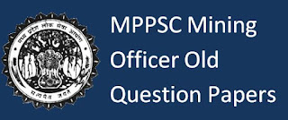 MPPSC Mining Officer Old Question Papers Download and Syllabus 2019-20