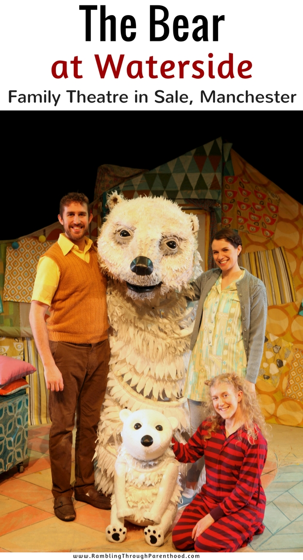 Christmas at the Waterside is always special and this year is no exception. Raymond Briggs's much-loved Book, Bear, has been brought to life by Pins and Needles Productions, and is now in residence at Waterside, with shows running into the New Year.