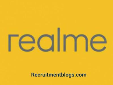 Junior Supply Chain Specialist (MALE) At realme