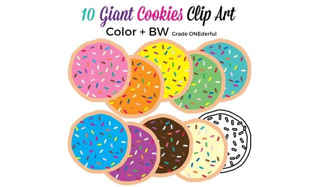 Sprinkle Cookies Clipart