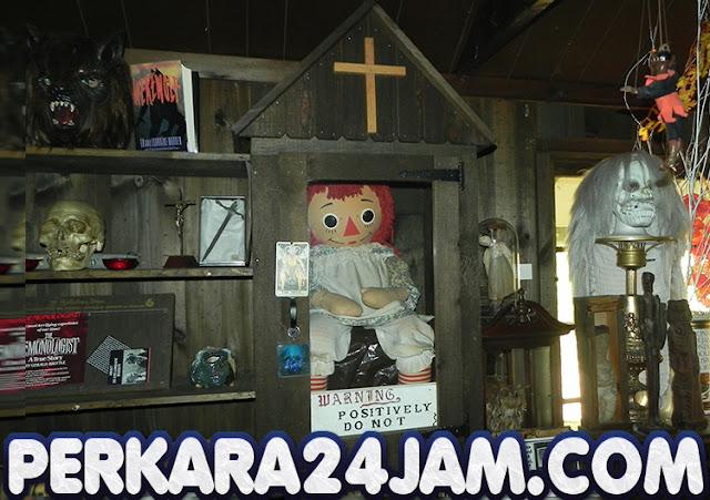 Geger, Ini Fakta Kabur Tidaknya Boneka Annabelle Dari Museum
