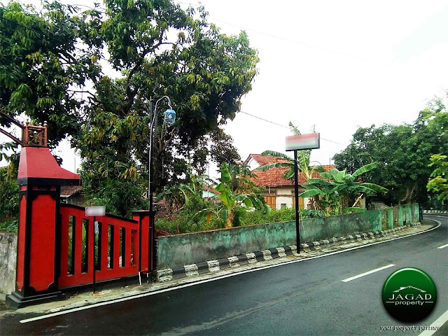 Tanah tepi jalan Utama dekat Umbul Ponggok Klaten