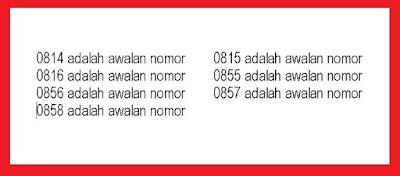 Admin melihat masih banyak pengguna kartu prabayar yang belum tahu nomor kode awalan oper Nomor Kode Awalan Semua Operator Indosat