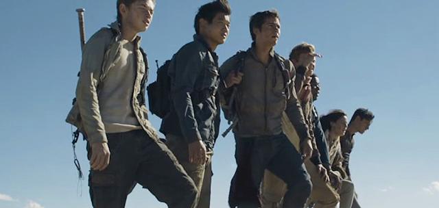 Grupul de adolescenţi ce a scăpat din labirintul misterios în Maze Runner