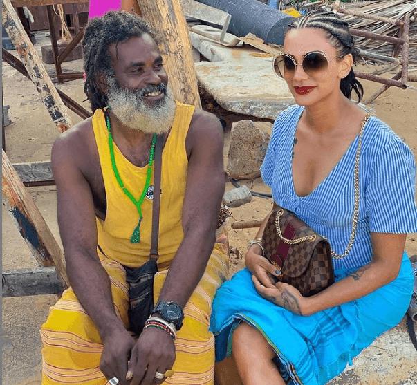 Omar Lali and Koko Kamillah in Lamu photos
