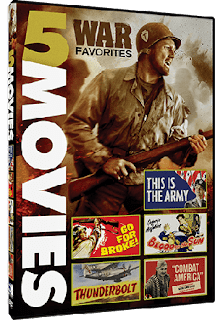 War Favorites - 5 Classic Action Films giveaway