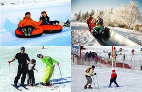 Paket Tour Beijing Ski Muslim 2014