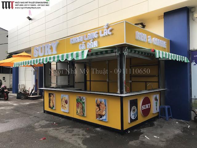 Quầy bán hàng lưu động đẹp nhất TP Hồ Chí Minh