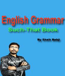 English Grammar Such That Free Book