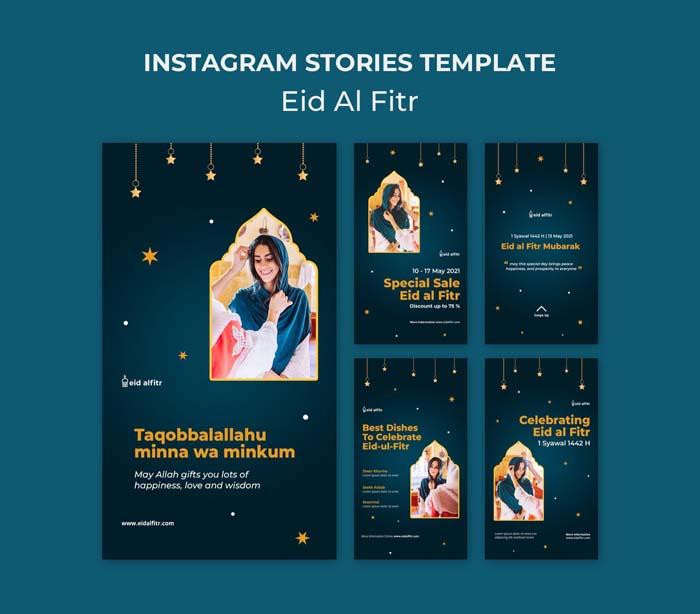 Eid Al Fitr Instagram Stories Collection