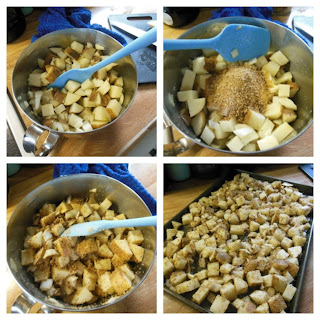"Easy to make ""Dusty"" Potatoes."