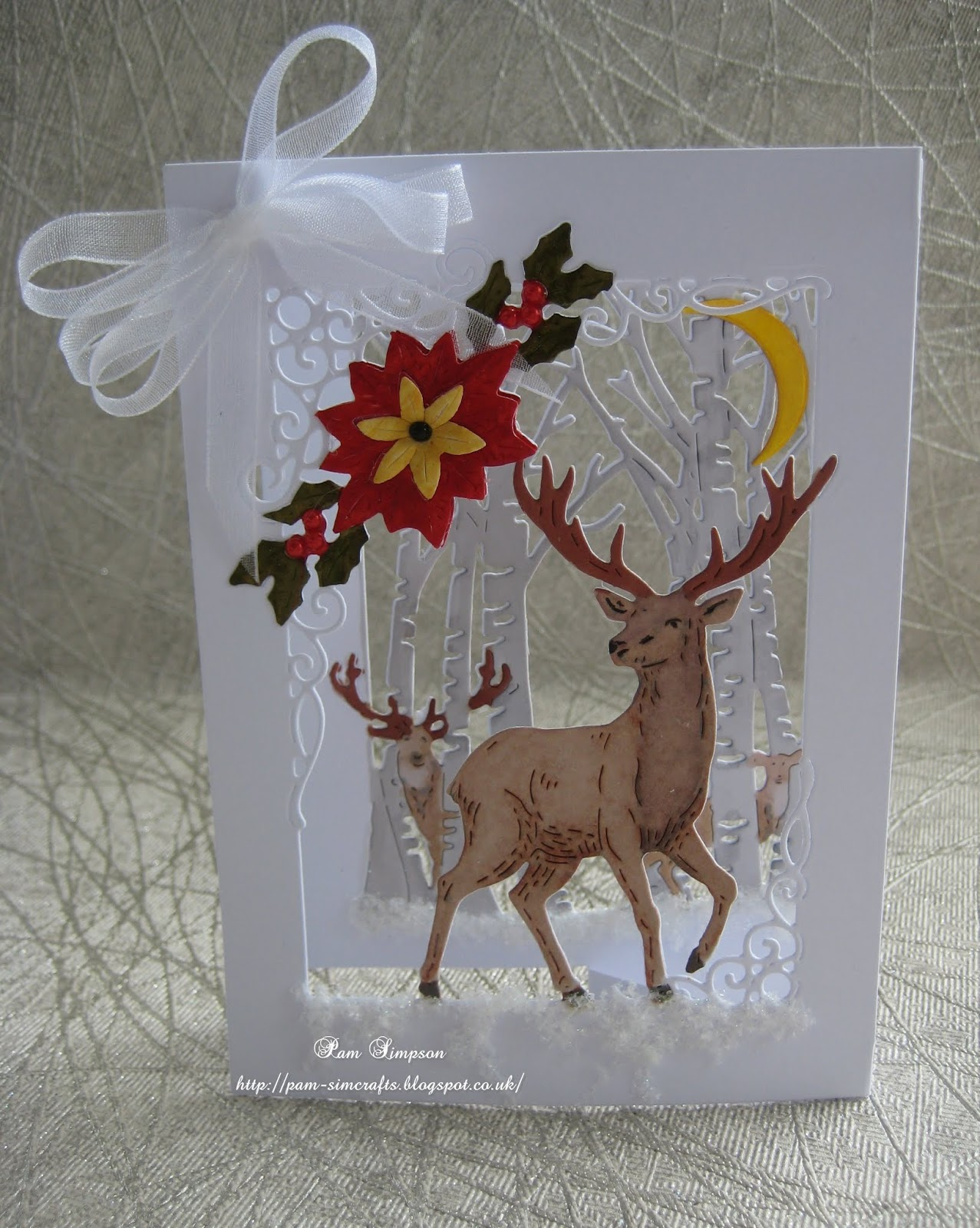 3D Symphony Christmas Stag
