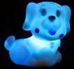 Image: Liroyal Color Change Decoration LED Lamp Night Light Candle Flash Kids Dog