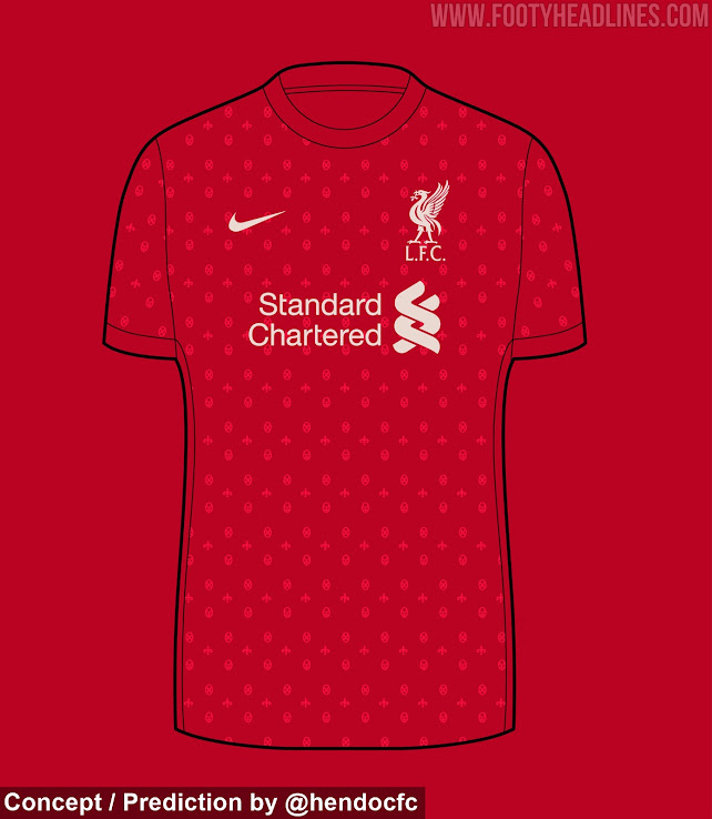 Liverpool 21-22 Home & Away Kit 'Predictions' - First ...