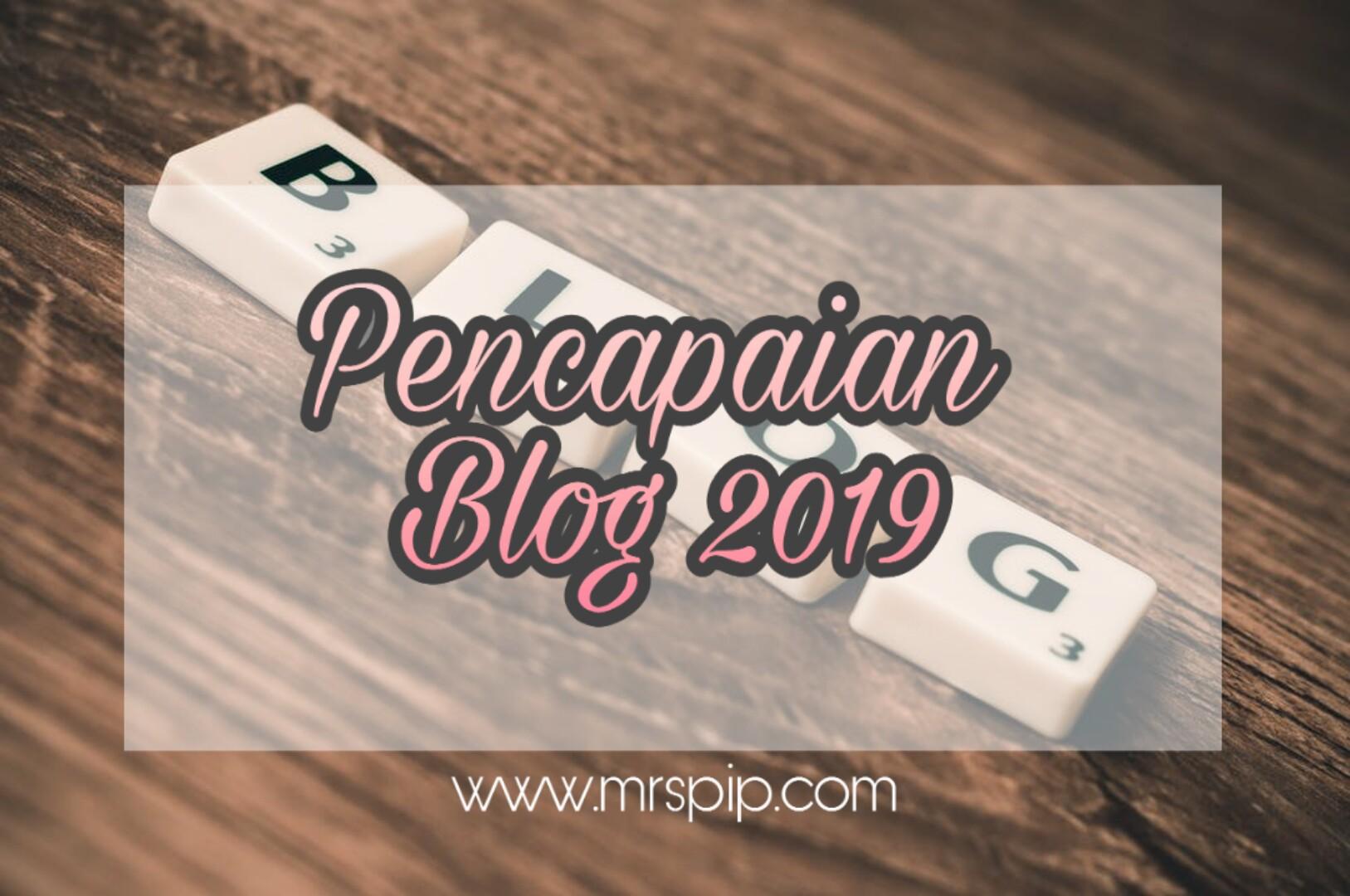 pencapaian blog 2019
