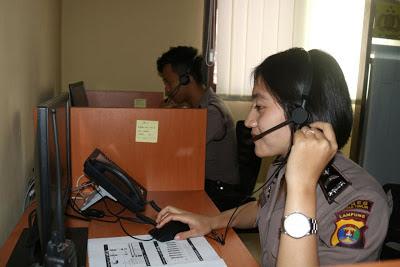 Tingkatkan Pelayanan, Polres Lamtim Launching Call Center