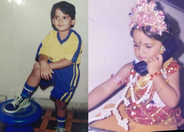 Naman Mathur childhood photo