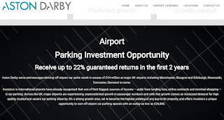 Aston Darby Airport Parking Manchester - is it a genuine?