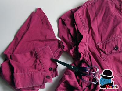 riciclo maniche dei jeans