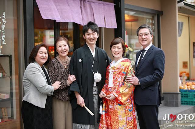奈良で前撮り