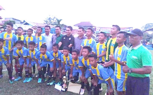 SSB BBC Batuang Taba Juara Turnamen Sepakbola U-13